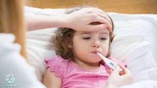 تب کودکان | علل، علائم و راهکارهایی برای کاهش تب در کودکان